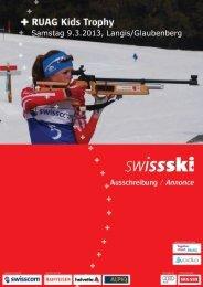 Ausschreibung RUAG KT_Langis_2013 - Swiss-Ski