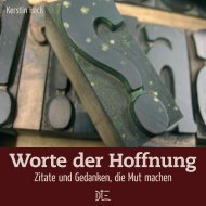 Leseprobe als PDF - Down to Earth
