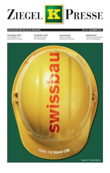 Ziegelpresse 2011 (PDF) - Keller AG Ziegeleien