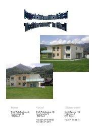 Bauherr Verkauf Totalunternehmer
