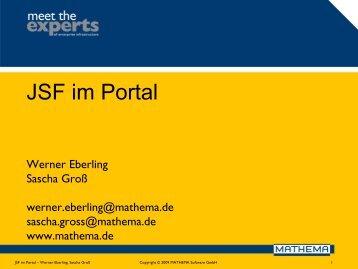 JSF im Portal