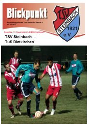 TSV Steinbach – TuS Dietkirchen