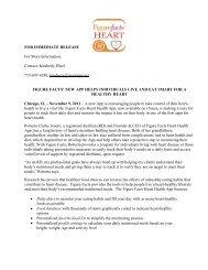 November 2011 Press Release - FigureFacts