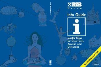 Info Guide - Raiffeisen Zentralbank Österreich AG