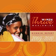 Download the pdf here. - Women Thrive Worldwide
