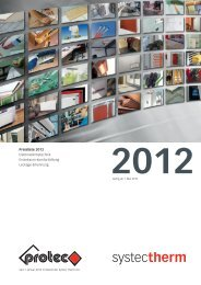 Preisliste 2012 Elektrowärmetechnik Einzelraum ... - Systec Therm AG