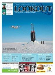 April 18, 2011 Volume 56 #16 - Lookout Newspaper
