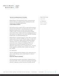 Print PDF - Shulman, Rogers, Gandal, Pordy & Ecker, PA