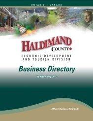 Business Directory - Haldimand County