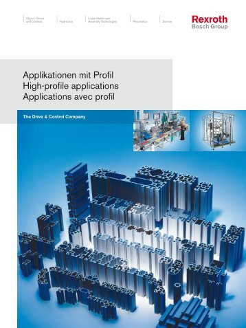 Applications MGE - Bosch Rexroth