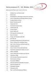 Ausstellerverzeichnis als PDF - Gemeinde Freienbach