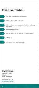 Prostata - Ursprung für viele Männerprobleme - Kyberg Vital - Seite 2