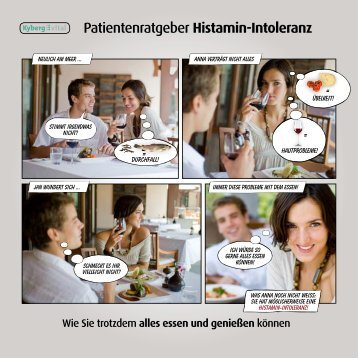 Patientenratgeber Histamin-Intoleranz - Kyberg Vital