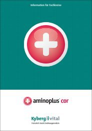 Fachinformationen zu aminoplus cor - Kyberg Vital