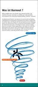 Stress und Burnout - Die unterschätzte Gefahr - Kyberg Vital - Page 4
