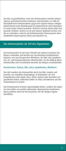 Unser Immunsystem - Zentrum der Gesundheit - Kyberg Vital