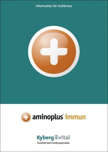 Fachinformationen zu aminoplus immun - Kyberg Vital