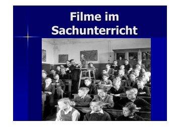 Filme im Sachunterricht