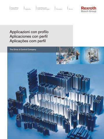 Applicazioni con profilo - Bosch Rexroth S.p.A.