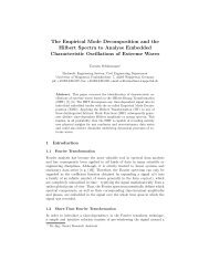The Empirical Mode Decomposition and the Hilbert Spectra ... - Ifremer