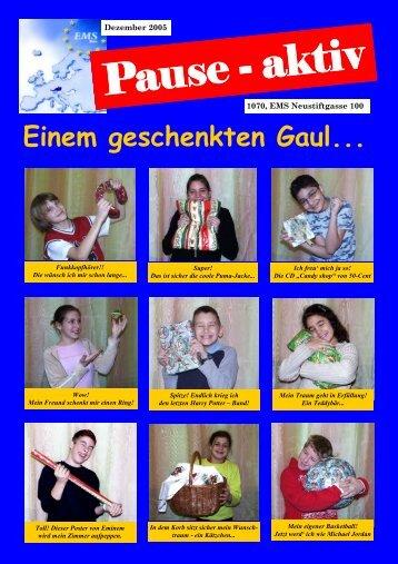 Ausgabe Dezember - Europäische Mittelschule Neustiftgasse