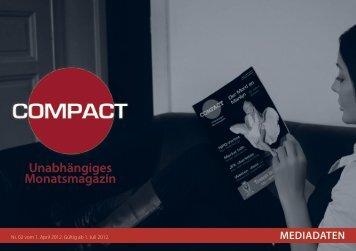 Mediadaten - COMPACT Magazin