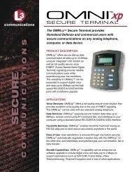 OMNI xp.indd - L-3 Communications
