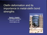 Metal-Olefin Bonding Interactions: more than electronic effects