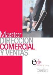 (Dossier Master Direcci\363n Comercial y Ventas EDE ... - Emagister