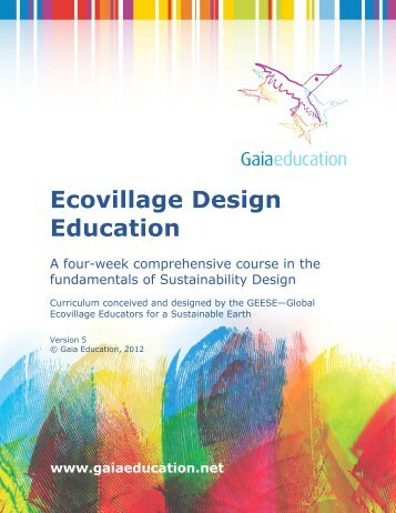 EDE Curriculum 2012.pdf - Gaia Education