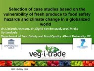 Selection of Case Studies Based - International Association for Food ...