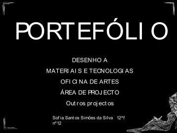 Port Folio de Sofia Santos Simões da Silva