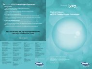 Clinical Evidence on XPO2 Portable Oxygen Concentrator - Invacare