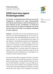 EDE Presseinfo_EDE baut neue Kita - E/D/E Einkaufsbüro ...