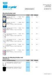 Wischtuchrollen - Geissmann Papier AG