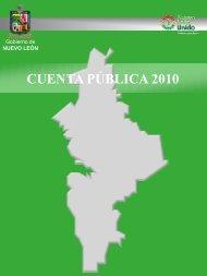 CUENTA PÚBLICA 2010 - Gobierno del Estado de Nuevo León