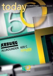 Das ARBURG Magazin