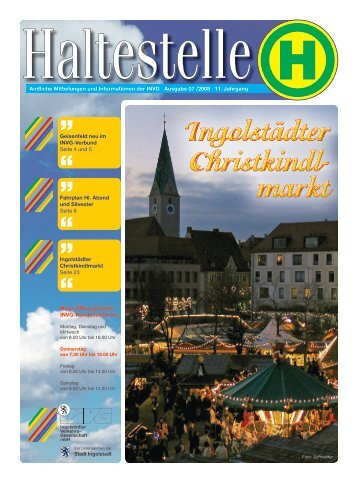 Ingolstädter Christkindl - Nahverkehr Ingolstadt