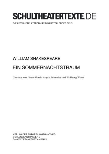 3 William Shakespeare und