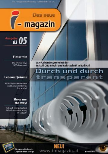 I-Magazin Ausgabe 03 / 05 (Bericht LCN) [.pdf - Elektro Jenzer