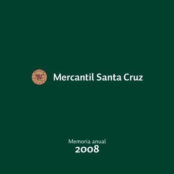 Memoria Anual 2008 - Banco Mercantil Santa Cruz