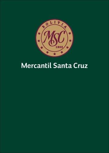 Todos los triunfos nacen cuando nos - Banco Mercantil Santa Cruz