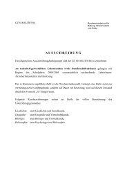 pdf, 298 KB - Bundesministerium für Unterricht, Kunst und Kultur