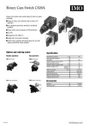 Rotary Cam Switch CS20A - Fusetek