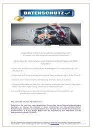 Datenschutz Flyer - Datenschutz4You