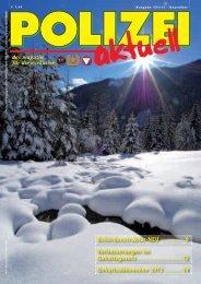 das magazin für die exekutive Behördenstruktur-NEU ... - FSG