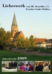 Jahresbericht 2009 - Erzabtei St. Ottilien