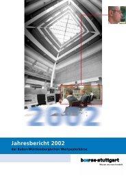 Jahresbericht 2002 - Logo | boerse-stuttgart.de