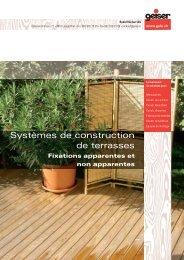 Brochure sur la construction de terrasses