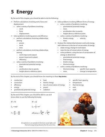 5 Energy - BC Science Physics 11